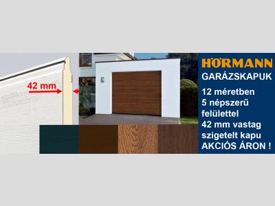HÖRMANN RenoMatic Light akciós szabvány méretű kézi garázskapu 2750 x 2125